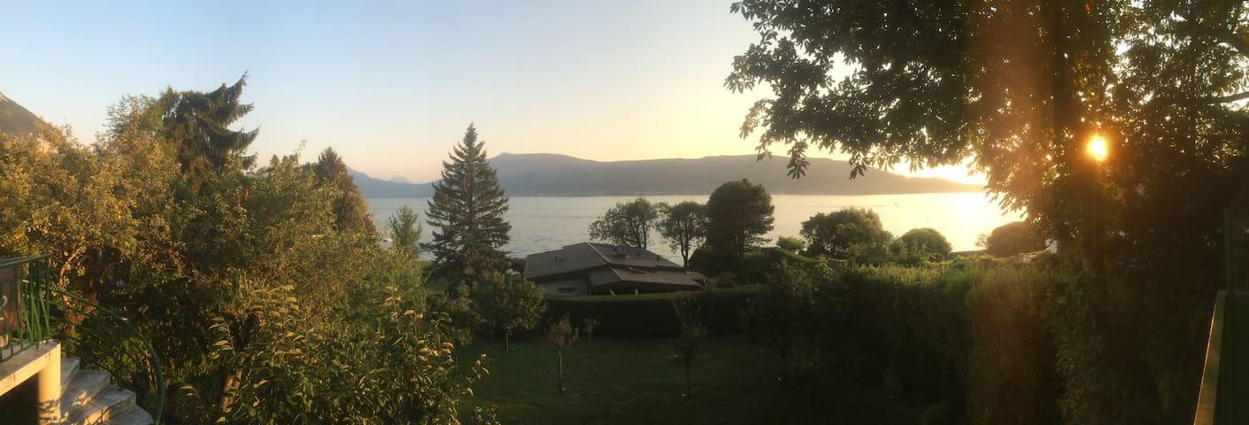 Séjour au bord du lac