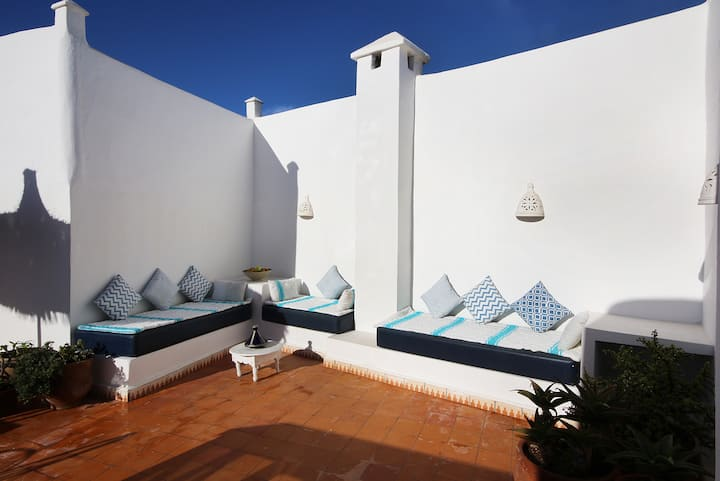Beautiful central riad with terrace