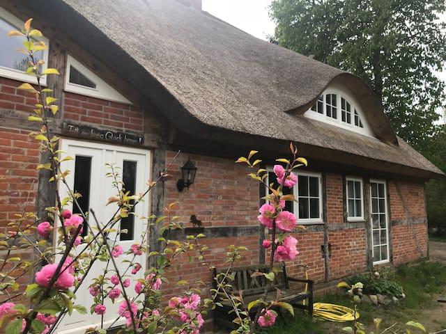 Historisches Reetdachhaus - Alter Pfarrhof Rügen