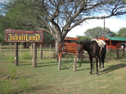 Cabañas JabaliLanD Gaucho Adventures Pampa Ranch