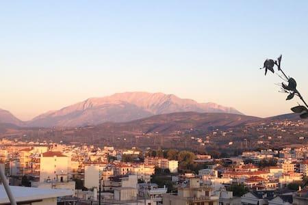Διαμέρισμα 100τμ κοντά σε Αράχωβα και Δελφούς - Levádhia