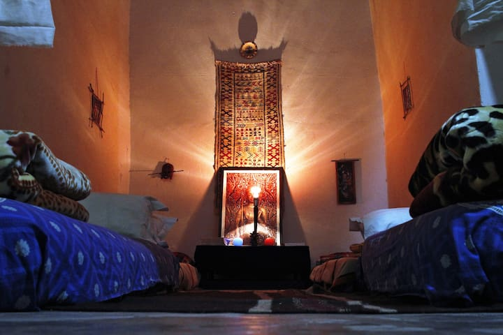 Shared room in Traditional African Artistic House - Ouarzazate - บ้าน