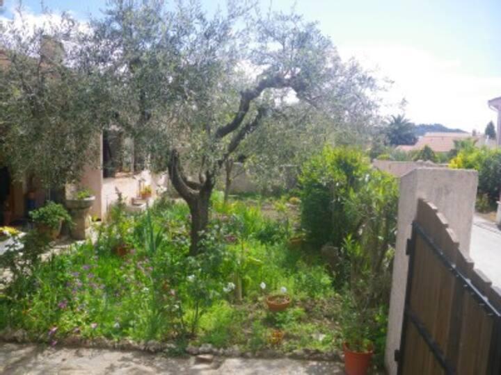 Location dans villa provençale