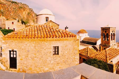 Κyma Mansion in Monemvasia