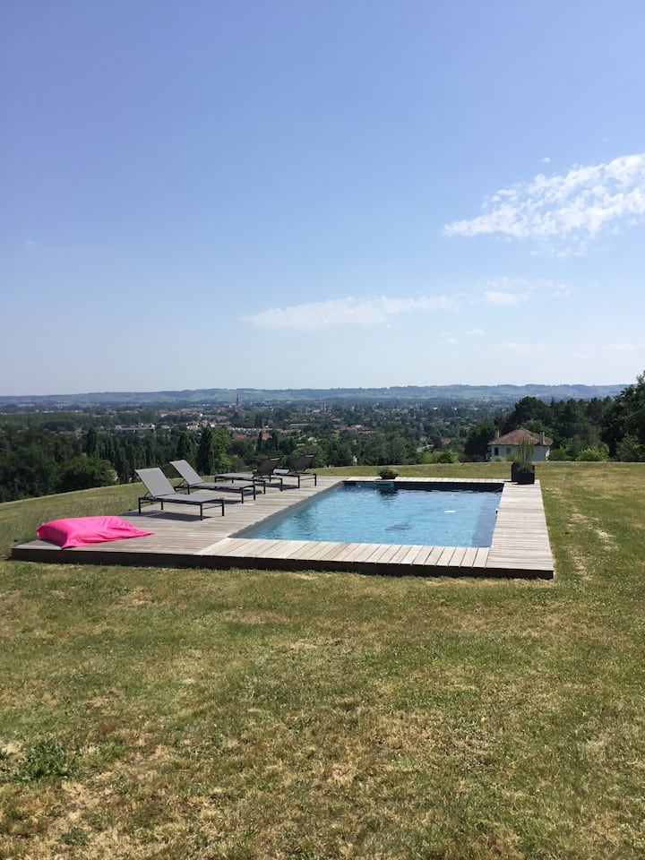 Villa Korum 3km from Bergerac city center