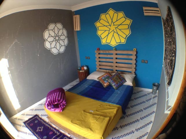 Cozy Room in Medina Apartment Near Djemma El Fna - Marrakesh - Apartemen