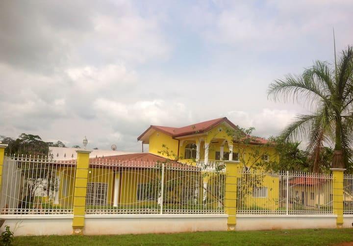Villa yaoundé  ODZA