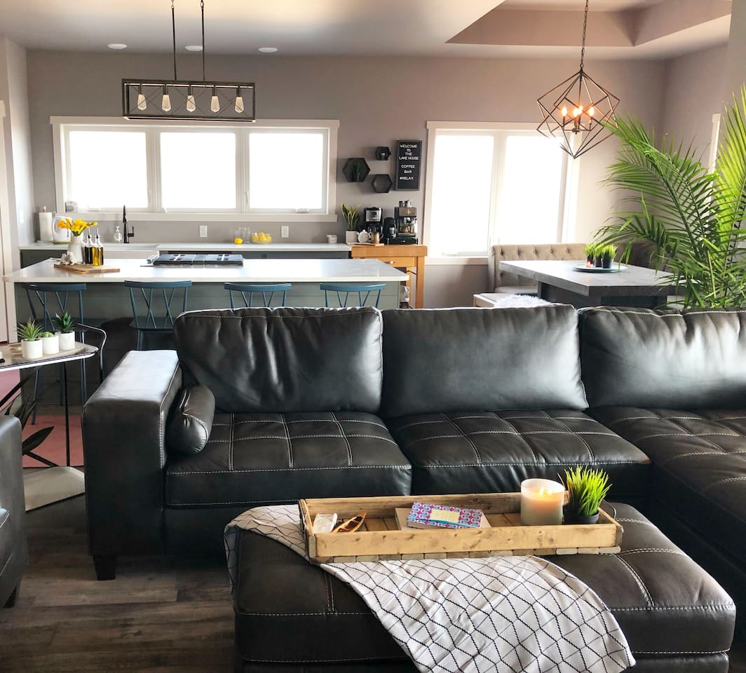 Open Concept Kitchen, Living Room, and Dining Room