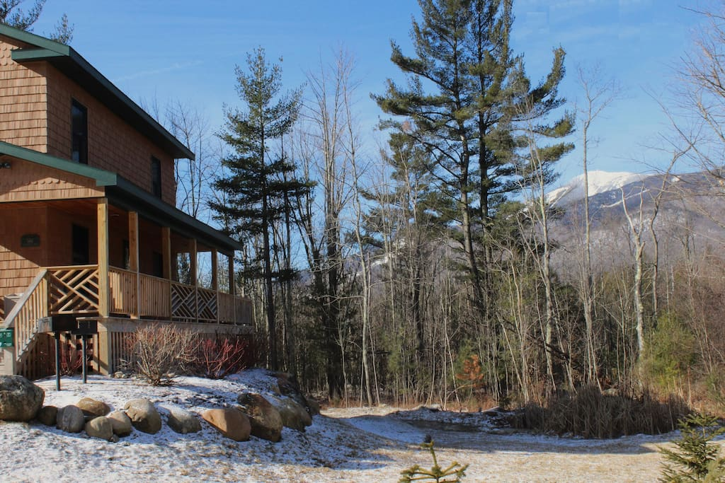 Marble mountain chalet houses for rent in wilmington for Wilmington ny cabin rentals