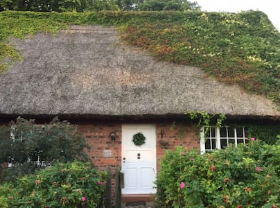 Thatched house in Bansin on the island of Usedom