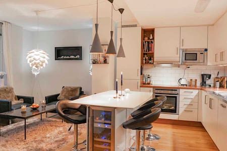 Classy 3-room apartment in central Gothenburg 93m2