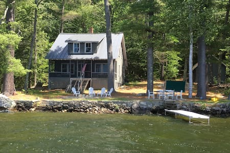 Rustic Maine Cottage on Golden Pond - House