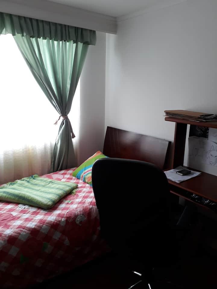 Habitación acogedora