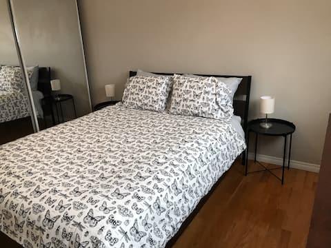Master Bedroom in Thickwood Duplex