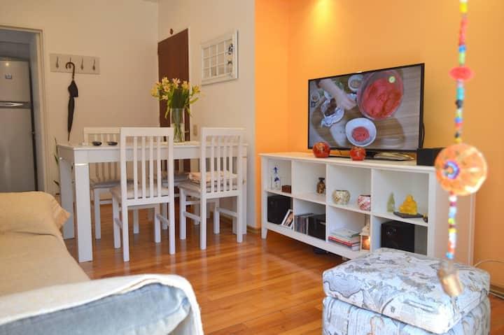 Depart. tipo Casa en Belgrano cerca de todo