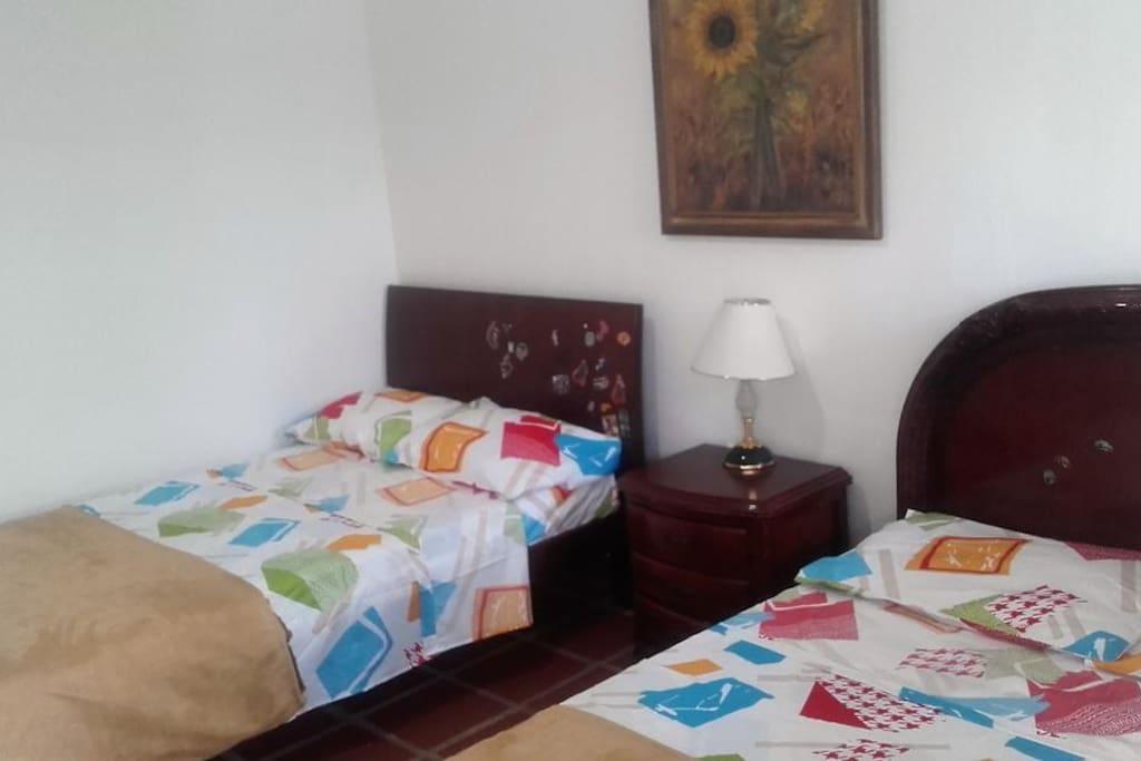 dormitorios para la familia o grupos