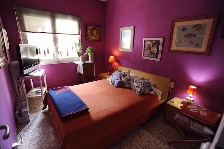 3 habitaciones con sus camas dobles - Vacarisses - Bed & Breakfast