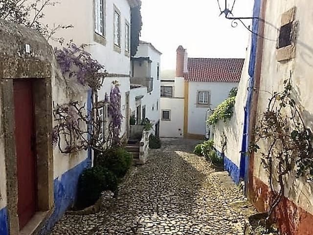 Cozy cottage in Óbidos Castle. 2 BR Sleeps 7