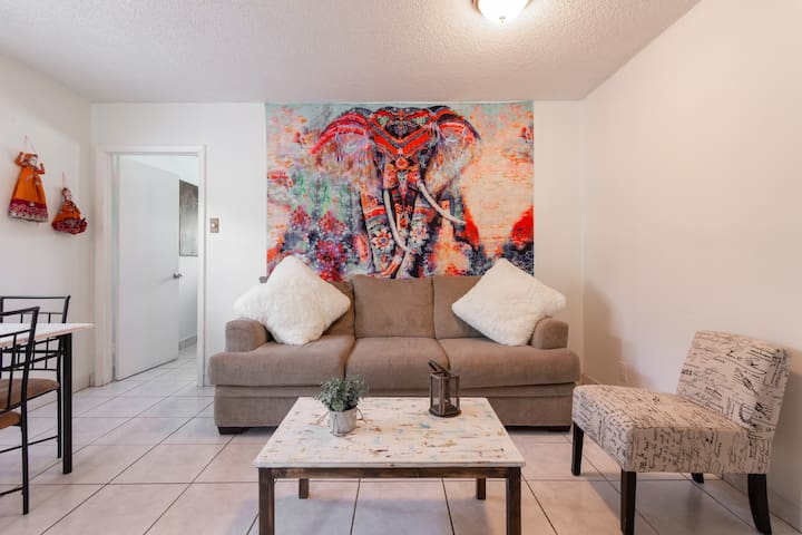 Our Eclectic Casa is perfect for a fun time in Miami.