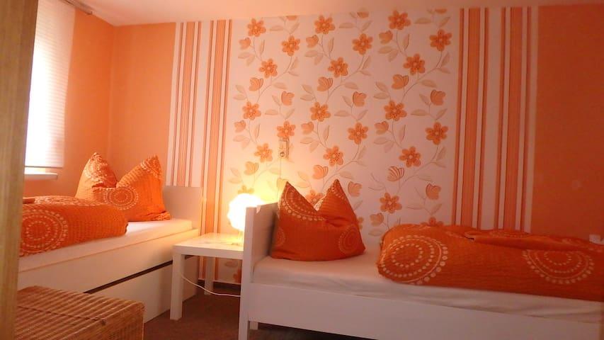 kleine gemütliche Ferienwohnung bei Eisenach - Wutha-Farnroda - Leilighet
