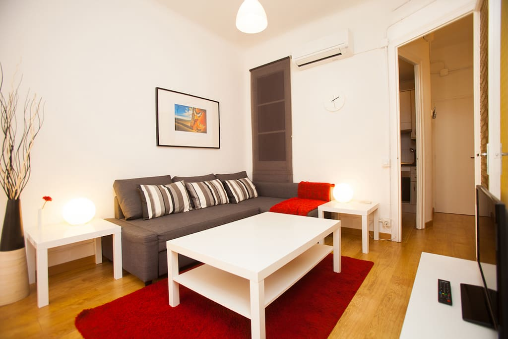 Fully equipped apartment for monthly stays Sagrada Familia Barcelona