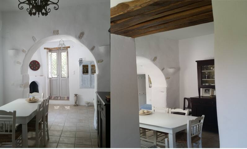 Traditional whitewashed house for 4 in Parikia