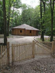 L'isba des bois, hors du temps - Janvry - Blockhütte