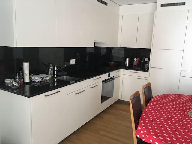 Waldhaus Braunwald- 4.5 Zimmer Wohnung EG - Glarus Süd - アパート