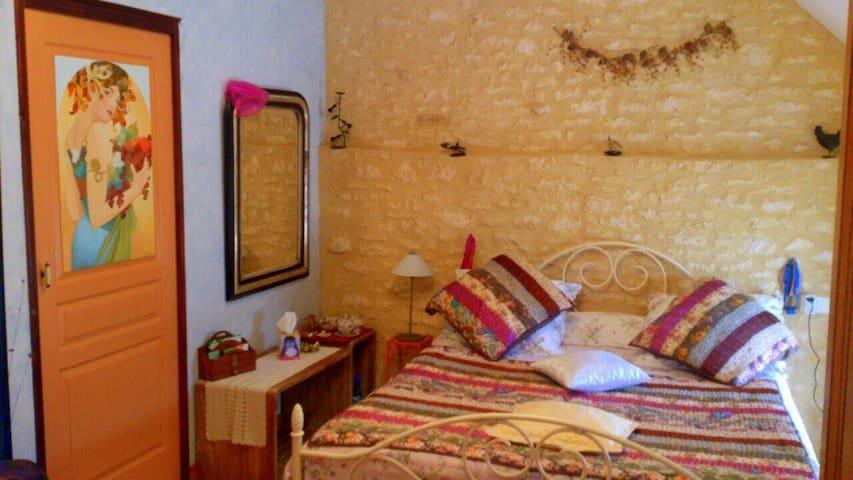 Chambre d'hôtes 2p en Périgord Noir - Cazoulès - Bed & Breakfast