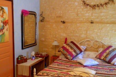 Chambre d'hôtes 2p en Périgord Noir - Cazoulès - ที่พักพร้อมอาหารเช้า