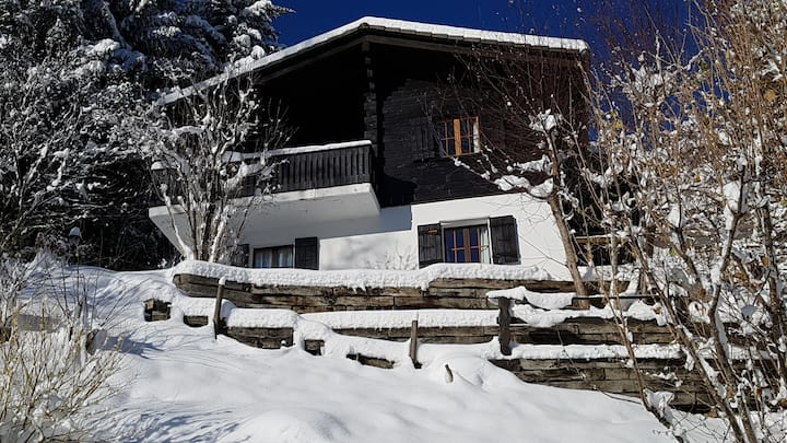 Charming chalet with panoramic view in GRUYERE