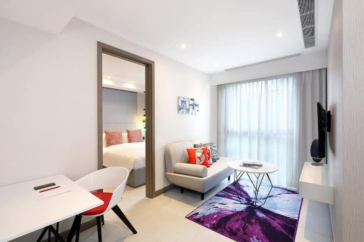 One Bedroom  Superior at Oakwood Studios Singapore
