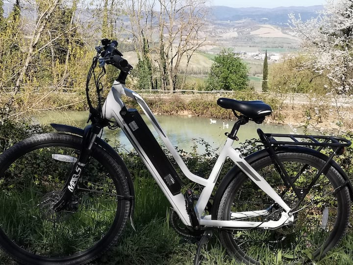Our land by e-bike