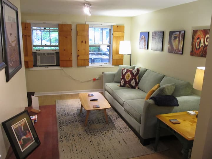 CLEAN Cozy Vintage Chicago Apartment near Downtown