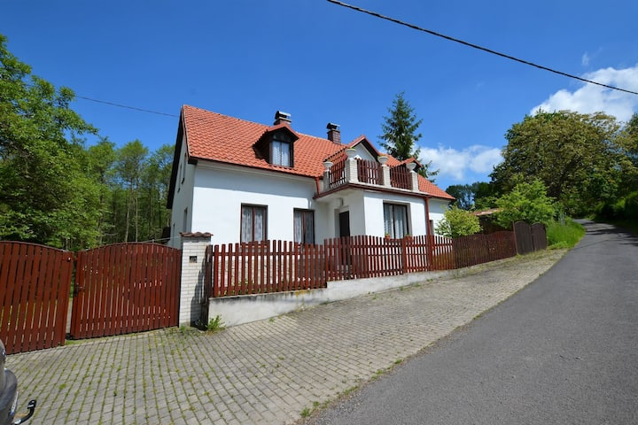 Idyllic Villa with Private Pool in Trebusin Czech Republic