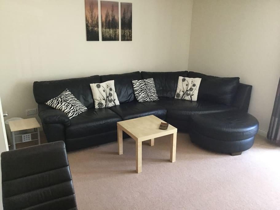 Large comfortable lounge.