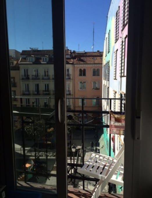Room´s balcony