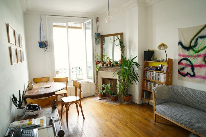 Appartement pantinois avec vue dégagée