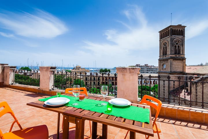 Santa Catalina c/ vistas a l bahia - Palma - Appartement en résidence