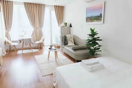❤️Jolie Home❤️private flat★Free Pool⭐5' to airport