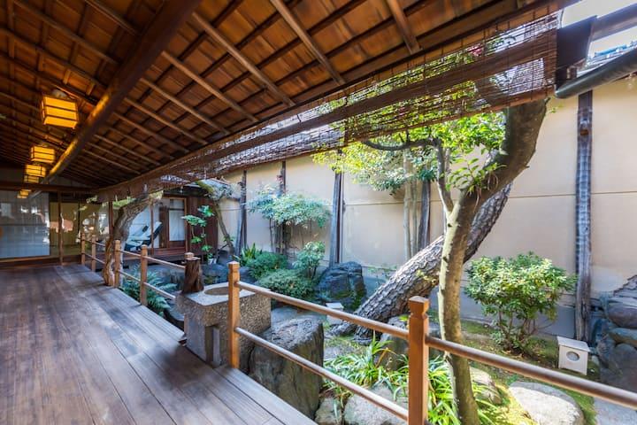 MM·大本家  150年京都町屋豪宅*奢华庭院*核心商圈*交通便利