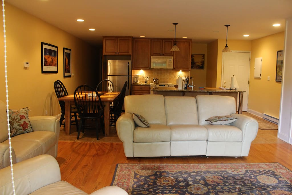 Open Concept Living Room, Kitchen, Dining room