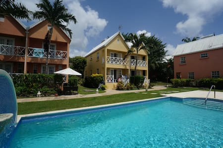 AJOUPA VILLAS 3 - 2 BR CONDO near BEACH W/ POOL