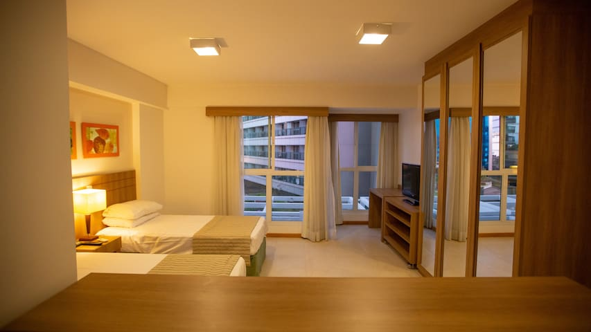 Lindo apart-hotel no centro de Brasília/St. Moritz