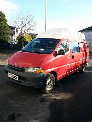 Life is fantastic in a van