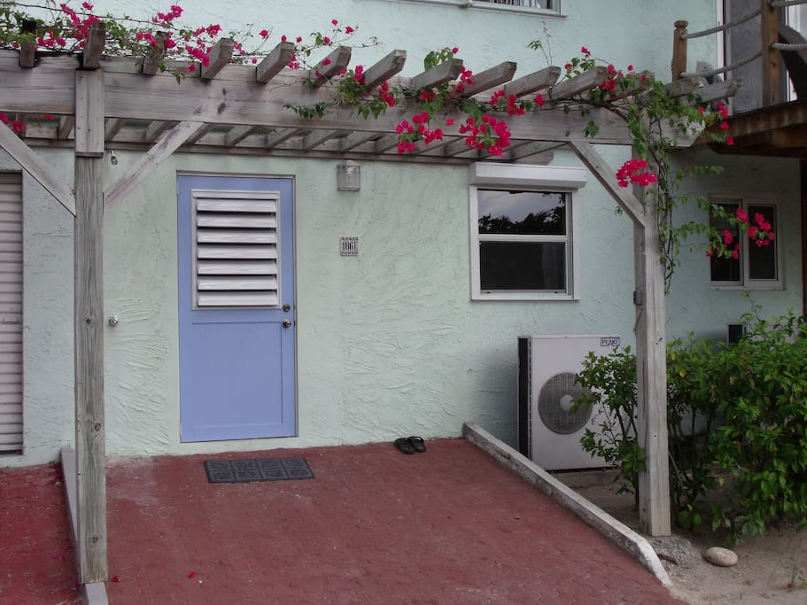 Front door - street side