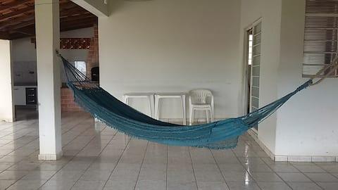 Casa para temporada em Panorama - PESCA/PRAIA
