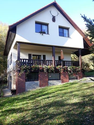 Romantický dům na Křivoklátsku