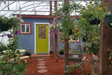 Cottage in a Greenhouse - Cottonwood Cabins