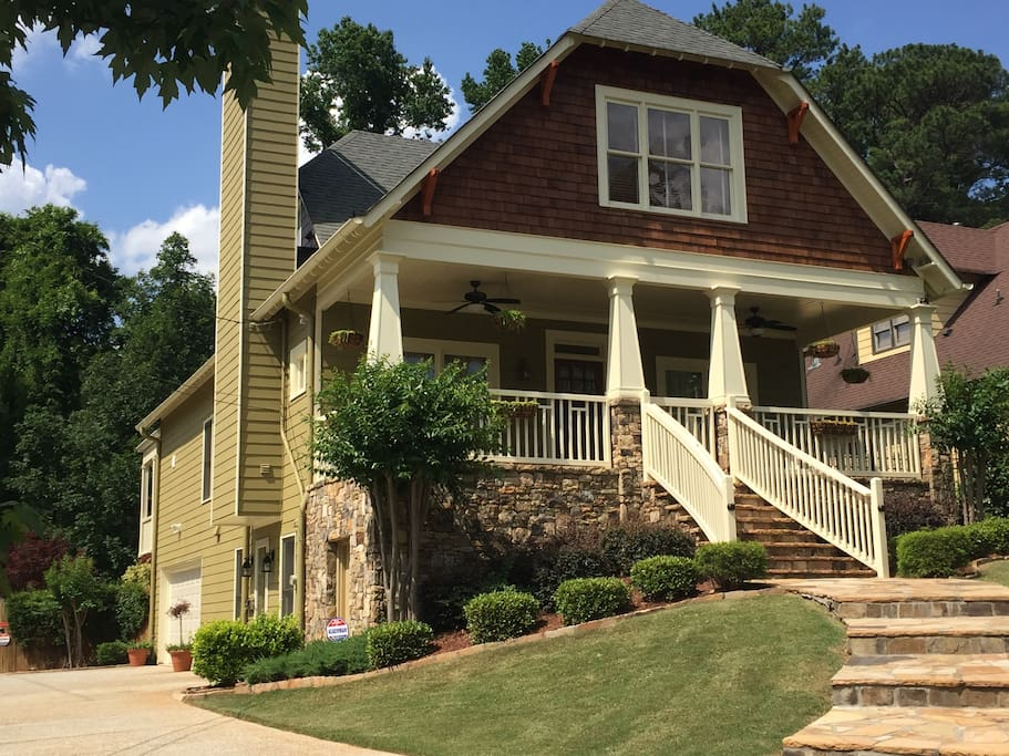 One Bedroom Apartment Retreat In East Atlanta Houses For